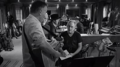 Members of E Street Band joined The Boss in the studio for the making of his 20th album.