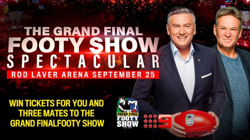 Win tickets to the Grand Final Footy Show!