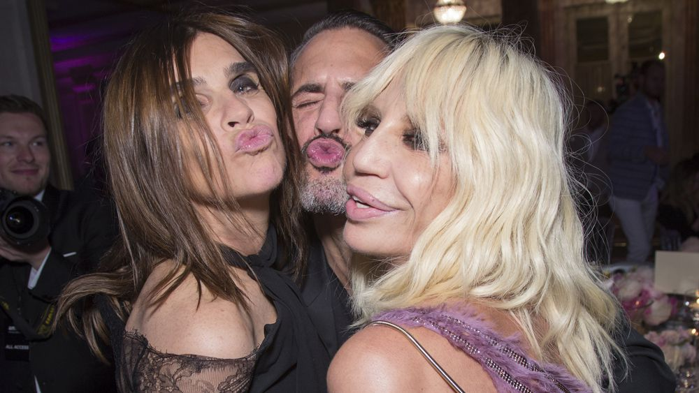 Donatella Versace has joined Instagram