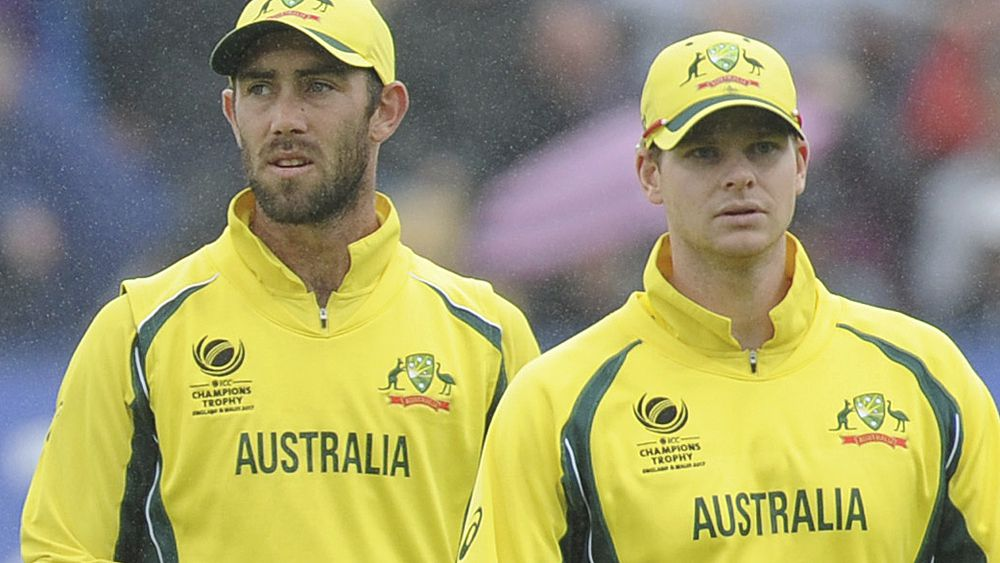 Cricket: Glenn Maxwell denies feud with Steve Smith after omission from ODI squad