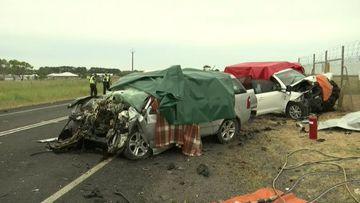 Crash near Mount Gambier kills three.