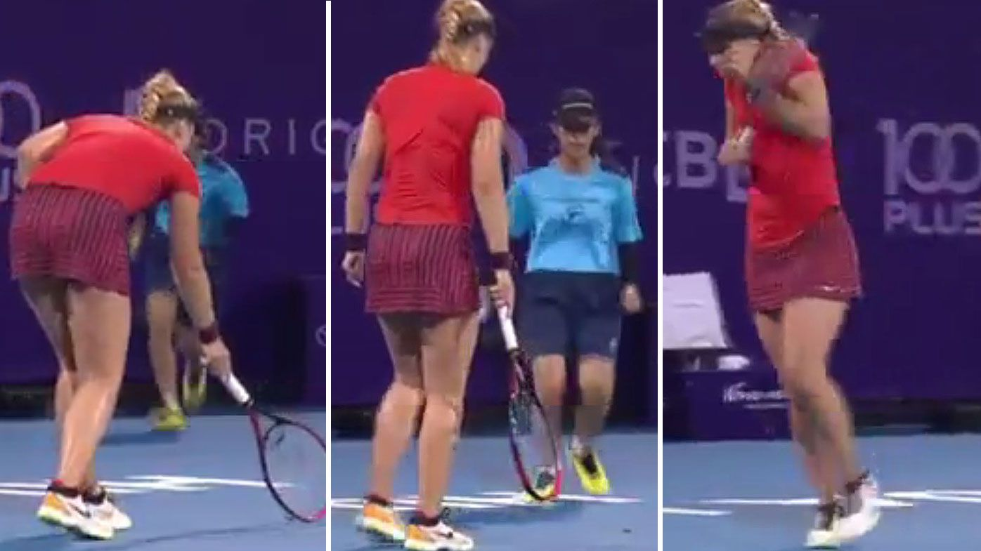 Thailand Open: Tennis star Sabine Lisicki left mortified by ballgirl's 'brutal' act