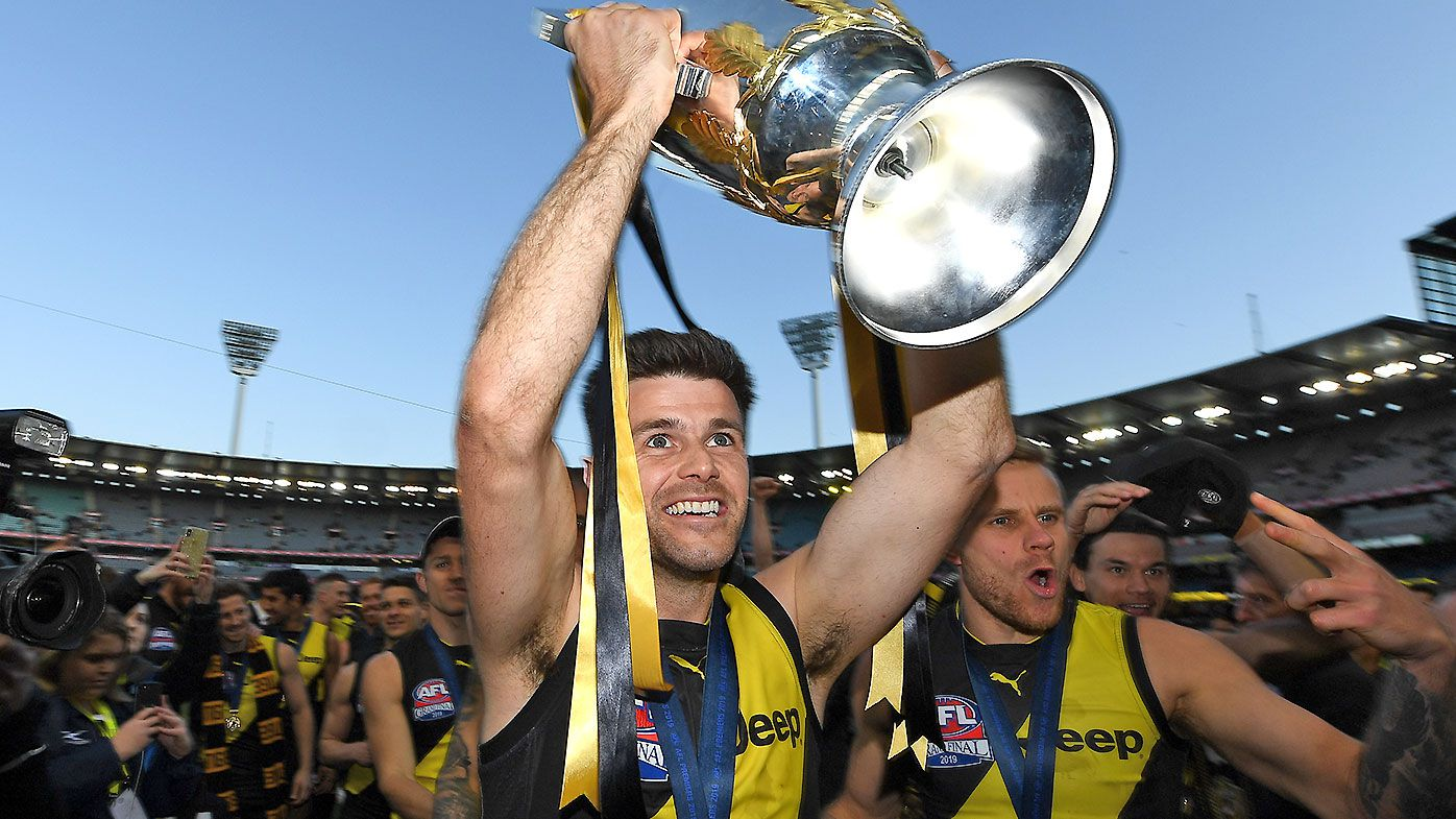 Trent Cotchin steps down as Richmond captain after club record tenure