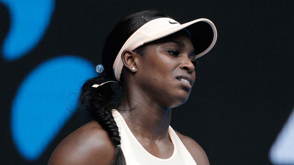 Stephens out in shock Australian Open loss