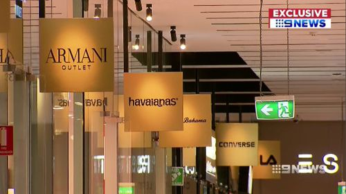 Shoppers will be able to find products from more than 75 brands, including Prada, Burberry and Louis Vuitton, for prices marked down by up to 70 percent. Picture: 9NEWS.