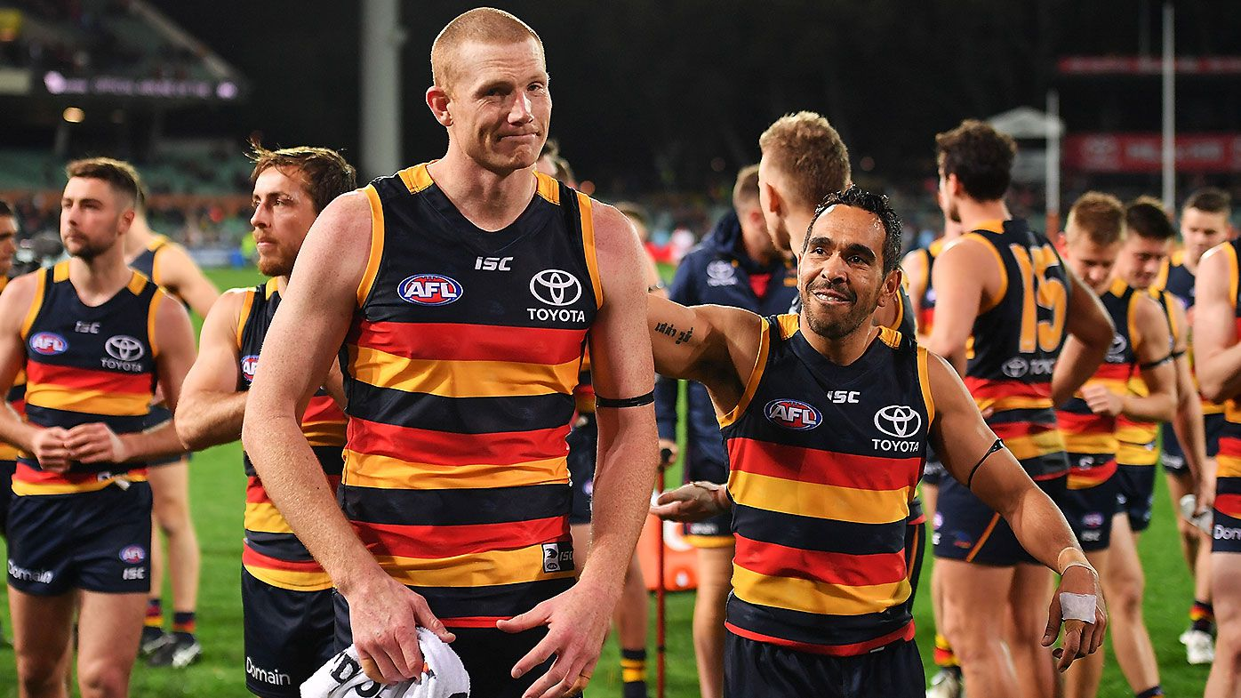 Veteran ruckman Sam Jacobs leaves Adelaide, likely to join GWS Giants