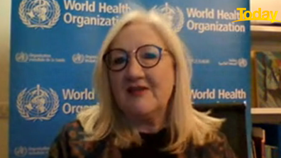 Dr Margaret Harris from the World Health Organisation says by following health advice and quarantining you are potentially saving lives.