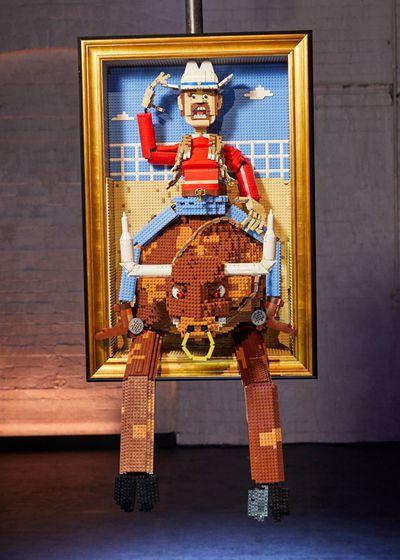 Bull-riding Cowboy — 3D Art Challenge