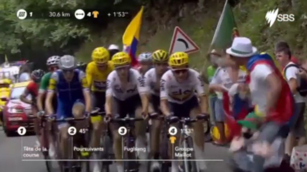 Froome denies deliberate barge