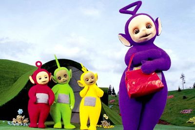 "At the height of <i><i>Teletubbies</i></i>-mania in 1999, crazy Christian evangelical Jerry Falwell announced that Tinky Winky is a ""gay role model"". The clues: Tinky Winky is purple, the apparent colour of gay pride; the antenna on his head is shaped like a triangle, the gay pride symbol; and he carries a purse. Of course! It's so obvious now!<br/><br/>One of the show's co-producers explained Tinky Winky is neither gay nor straight &mdash; ""He's just a character in a children's series"" &mdash; while the BBC stepped in to explain what Tinky Winky <I>really</I> is: ""a sweet, technological baby with a magic bag"". Which makes perfect sense."