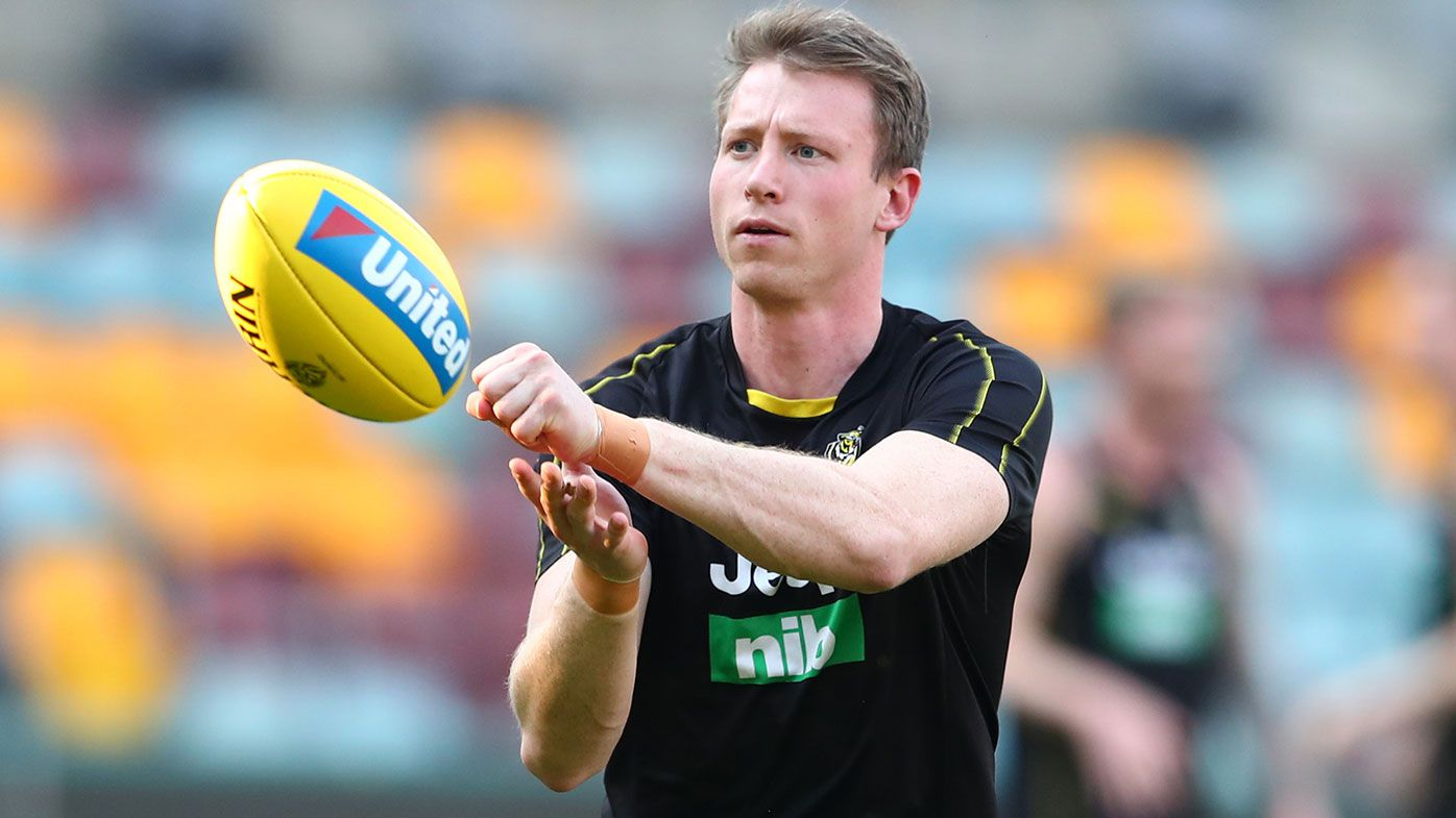 Richmond's Dylan Grimes hits out at 'unfair' staging label