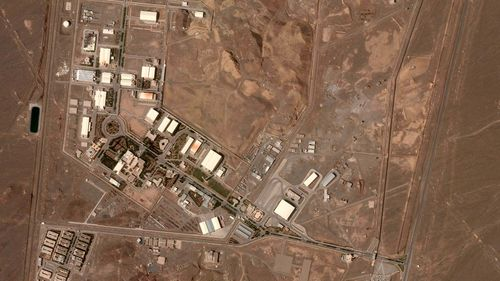 """Iran on Sunday confirmed an """"incident"""" at a nuclear plant in Natanz, a day after the government said it was launching more than 150 new uranium enrichment centrifuges at the underground facility."""