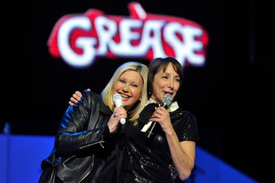 """<i>Grease</i> fans (let's face it, who isn't?), here's the one that you want.<br/><br/>Olivia Newton-John and Didi Conn, who played Sandy and Frenchy in the 1978 hit musical, have reunited on stage at Olivia's latest show in Vegas. Yes, Sandra Dee and our fave Beauty School Dropout still look as hopelessly devoted to each other as they did back in the day. See all the pics here!<br/><br/>Images: Getty. Author: Adam 'Greased Lightnin' Bub. <b><a target=""""_blank"""" href=""""http://twitter.com/TheAdamBub"""">Follow on Twitter</a></b>"""