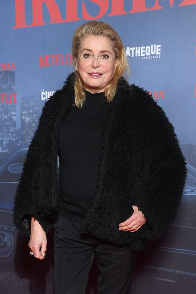 Catherine Deneuve, movie premiere, red carpet