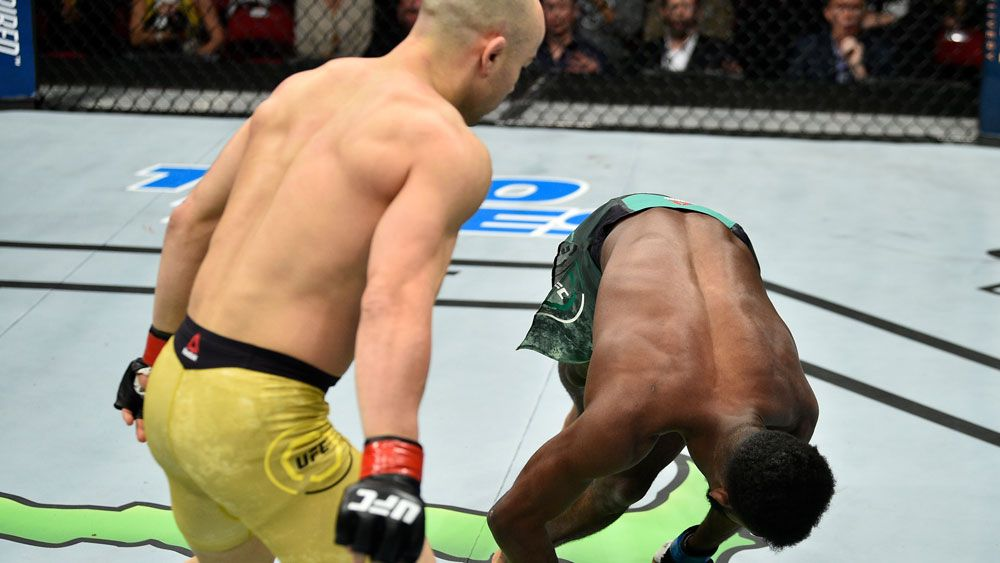Marlon Moraes puts up contender for 'Knockout of the Year' over Aljamain Sterling at UFC Fight Night 123