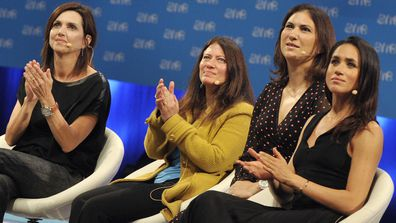 4 Meghan Markle at One Young World Summit Dublin, Ireland October 2014