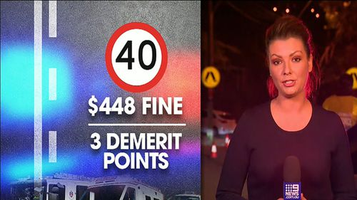 Under a new one-year trial, NSW drivers will need to slow down to 40km/h around emergency services vehicles or risk losing three demerit points.