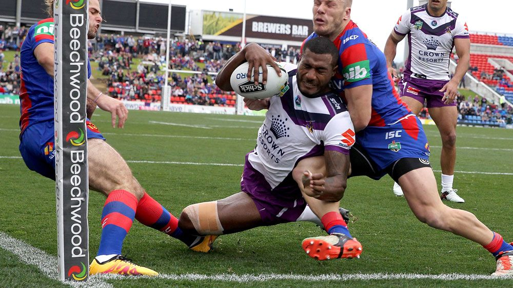 Melbourne edge brave Knights in NRL