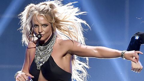 Britney Spears performs at iHeartRadio Awards.