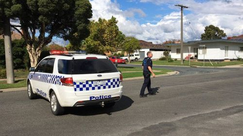 Police were at the scene on Belle Avenue, Wangaratta, for nearly five hours (Victoria Police)