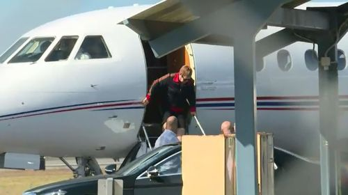 Elton John has landed in Mackay for his 'Once in a Lifetime' tour.