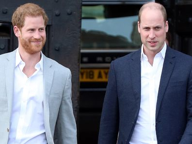 William and Harry Diana statue unveiling