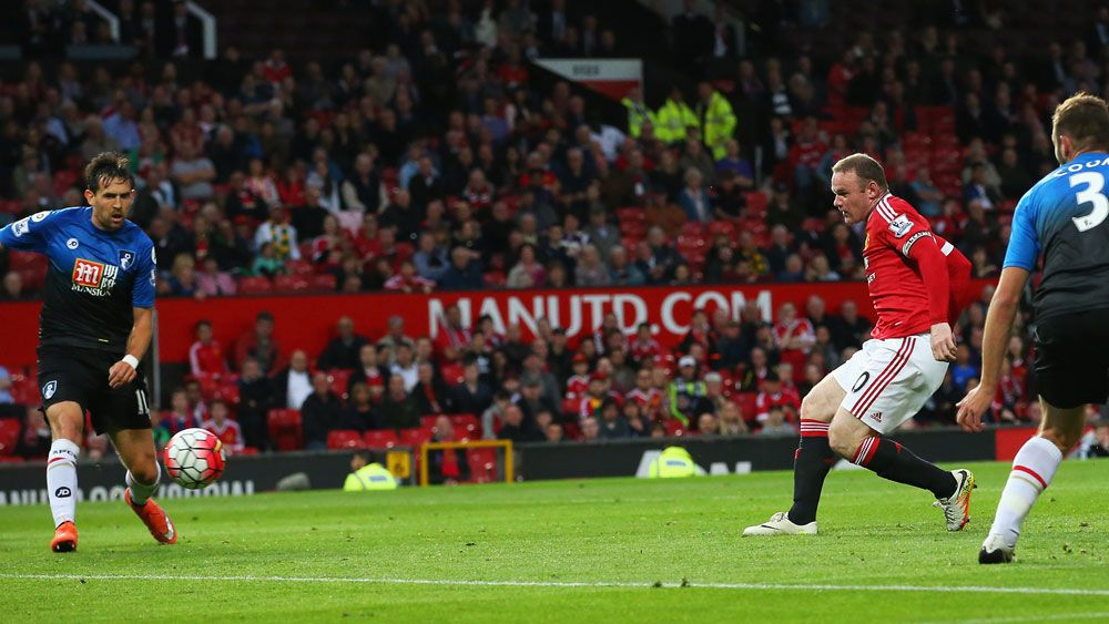 Rooney strikes in Man Utd win