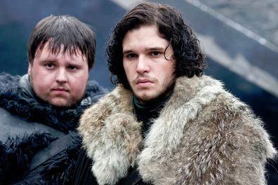 Samwell Tarly and Jon Snow