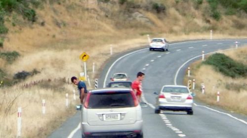 Motorist, NZ authorities disgusted by high-speed urination