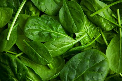 Spinach and leafy greens