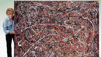 """<p _tmplitem=""""3"""">Long-haul truck driver Teri Horton once dropped into a thrift store in California where she spotted a large messy painting consisting of lines of paint thrown on a canvas. </p><p _tmplitem=""""3""""> The 73-year-old talked the shopkeeper down from $7 to $5 and then struggled to get the work out the door. </p><p _tmplitem=""""3""""> She later showed it to a friend who suggested it could be an original piece by abstract expressionist Jackson Pollock, Ms Horton replied: """"Who the f--- is Jackson Pollock?"""" </p><p _tmplitem=""""3""""> The story was made into a film, appropriately titled, <i _tmplitem=""""3""""> Who the #$&% is Jackson Pollock?"""" </i></p><p _tmplitem=""""3""""><i _tmplitem=""""3""""> Ms Horton would later be offered $9 million, but its potential value could be as high as $100 million. </i></p><p _tmplitem=""""3""""><i _tmplitem=""""3""""> </i></p><i _tmplitem=""""3""""> </i>"""