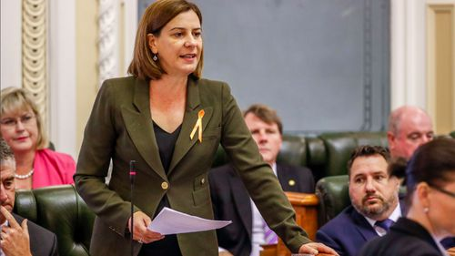 Opposition leader Deb Frecklington has called for an investigation.
