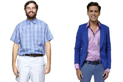 Cases in point: <i>Beauty and The Geek</i> guys post-makeover. Last year's contestant Rich was a great example!<br/><br/>Images: Seven Network