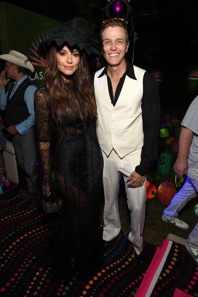 Pia Miller, Patrick Whitesell, dating, Halloween party