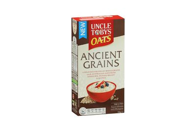 Uncle Tobys Ancient Grains: A fraction of a teaspoon of sugar