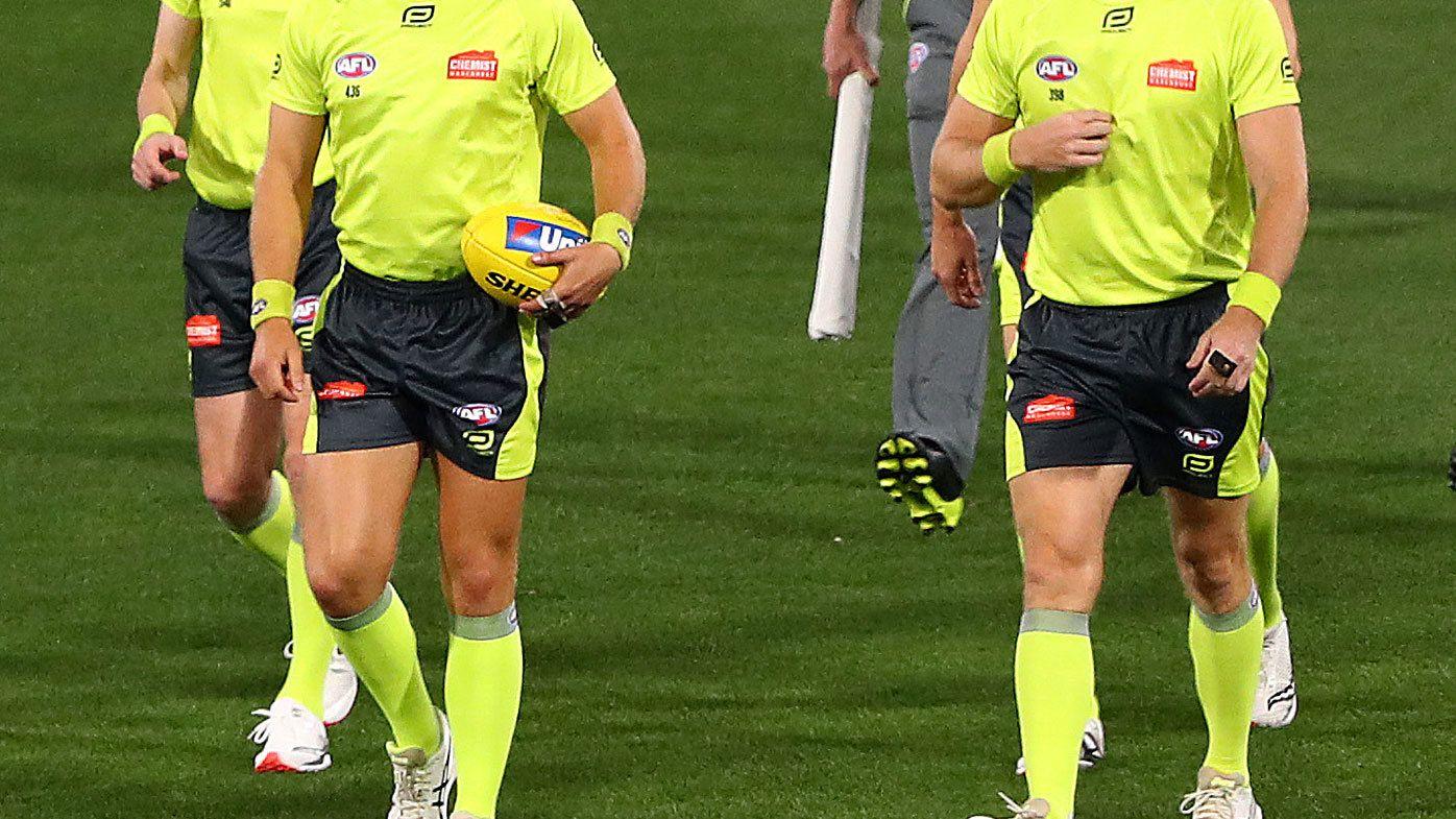 AFL umpires