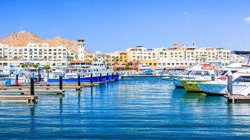 The seaside city of Los Cabos, Mexico.