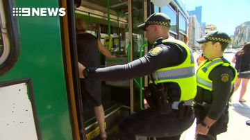 PSOs on trams as security beefed up for Australian Open