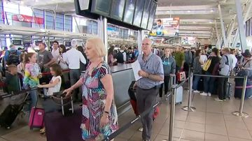 Travellers not impacted by staff protests at Australian airports