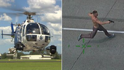 Chopper cops fighting crime from the sky