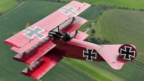 The Red Baron legend lives on today around the world. UK aviation enthusiast Paul Ford built a replica of his World War I fighter. (Facebook)
