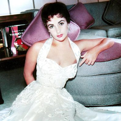 Elizabeth Taylor in the 1950s.