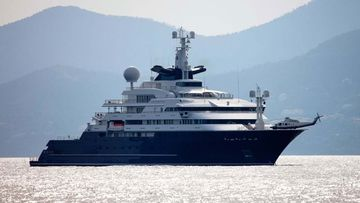 The luxury superyacht is on the market for a cool $475m.