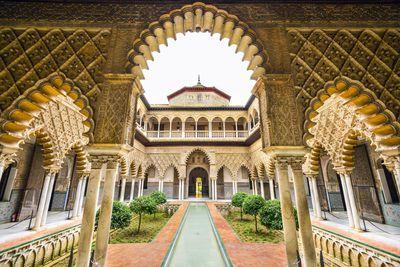 <strong>Alcázar of Seville,Spain</strong>