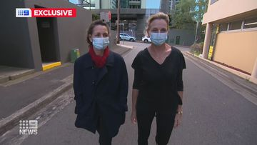 Queensland aged care nurses stranded in NSW after leaving families to assist with COVID crisis