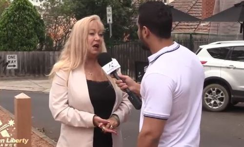 Candidate for Yan Yean, Meralyn Klein, appears in the video for a competing fringe micro-party, the Australian Liberty Alliance, detailing a violent crime which allegedly happened to her about 10 years ago.