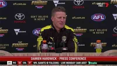 Richmond coach Damien Hardwick backs Dustin Martin call after AFL loss