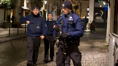 Belgian knife attacker stabs police officer