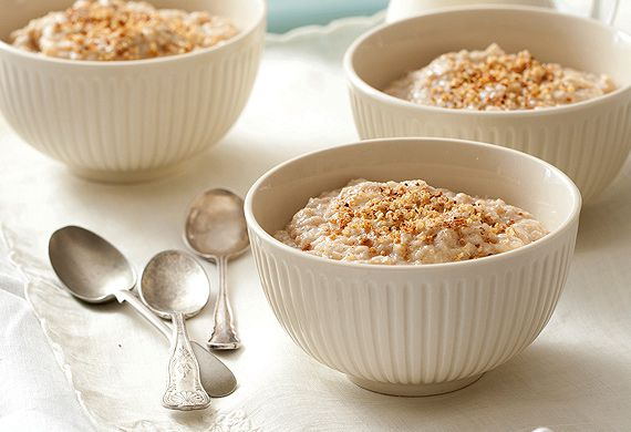 Rena Patten's creamy apple and cinnamon porridge