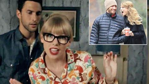 Watch: Taylor Swift disses Jake Gyllenhaal lookalike in 'We Are Never Ever Getting Back Together' clip